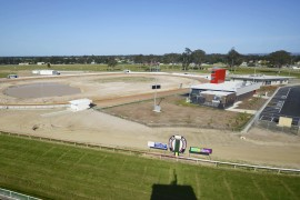 VIDEO: Time-lapse of Traralgon Track and Pavilion Construction