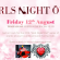 Girls Night Out @ Traralgon on 12th August 2016!