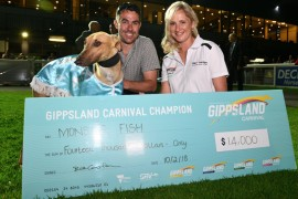 Gippsland champ claims monster bonus